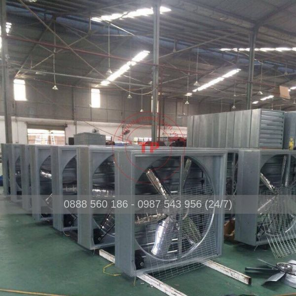 quạt thông gió công nghiệp cho nhà xưởng