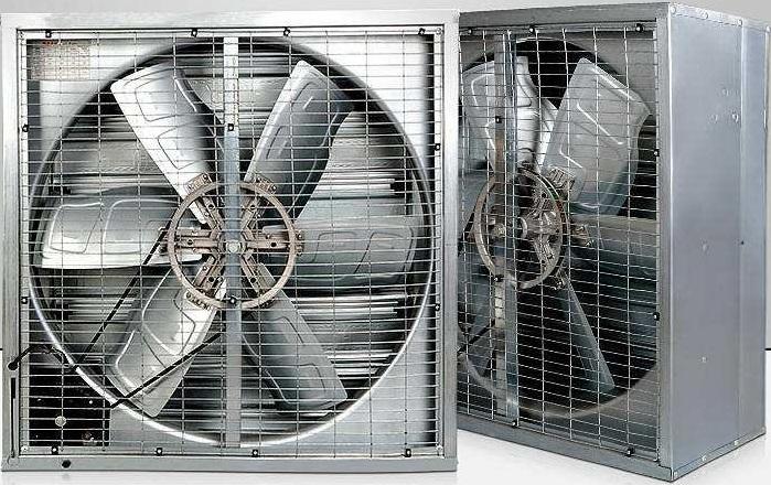 quạt thông gió gió công nghiệp