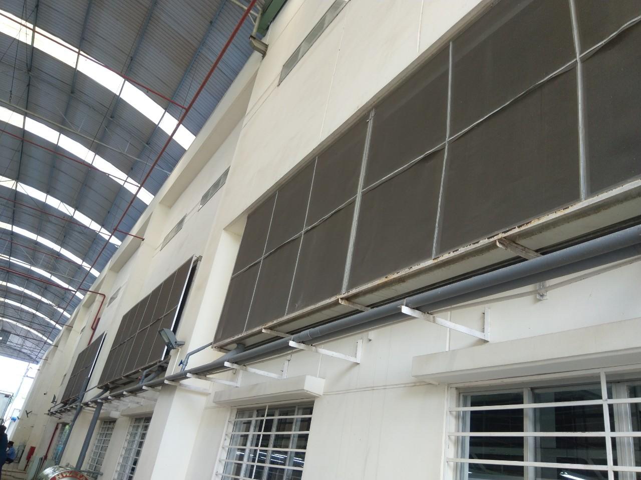 thi công hệ thống cooling pad